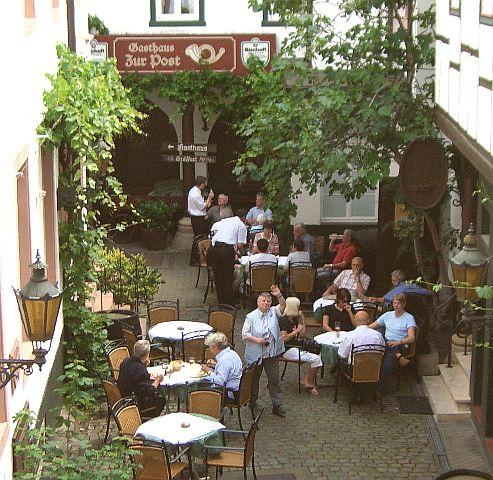 restaurant zur post in neustadt an der weinstra e. Black Bedroom Furniture Sets. Home Design Ideas