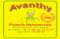 Avanthy Pizza-Heimservice